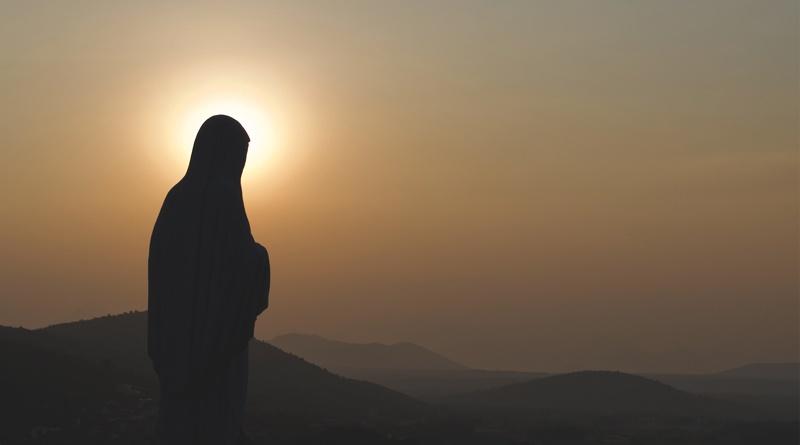 Maria  als Frucht eines gesegneten Keims